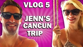 Jenn Barlow Travel Vlog in Cancun with Tulum, Cenotes and Epic Beaches