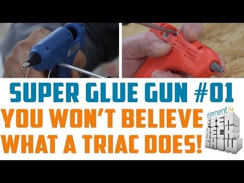Super Glue Gun 01: Hot Tool Teardown