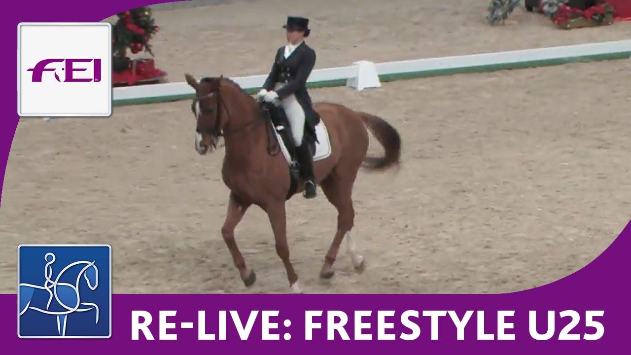 re live dressage cdiu mevisto amadeus horse indoors iris re live dressage cdiu25 mevisto amadeus horse indoors iris porsche dressage u25 cup