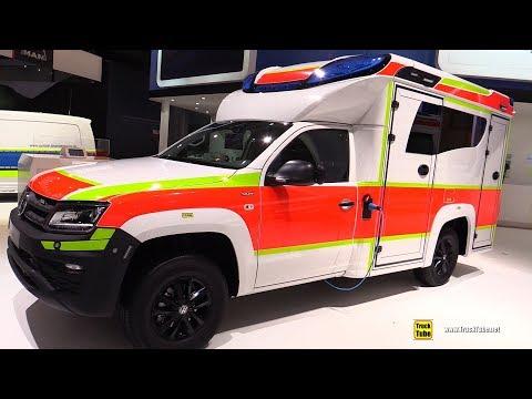 2019 Volkswagen Amarok Medical vehicle - Walkaround - 2018 IAA Hannover