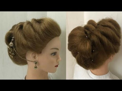 2 Easy Beautiful Hairstyles For Wedding Or Function Youtube