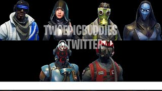 All New Skins, Emotes + Cosmetics in Fortnite Battle Royale!