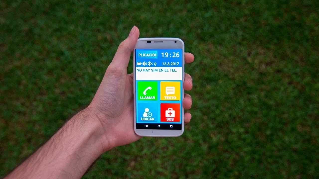 2. Simple Senior Phone