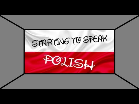 Starting to Speak Polish