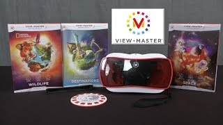 ViewMaster Virtual Reality Starter Pack and Expansions from Mattel