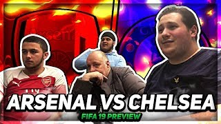 FIFA 19 | Frank vs Louis (100PercentChelsea) | Arsenal vs Chelsea | (Ft. Claude & Bhav)