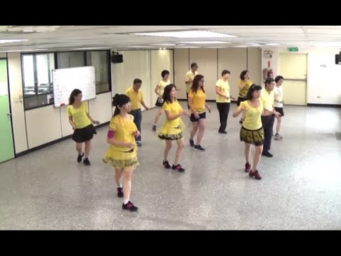 Rivers Of Babylon (by John B. & Karen W.) - line dance (demo & walk through) = 巴比倫河  - 排舞(含導跳)