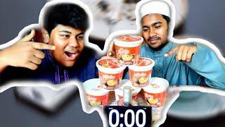 মট পতলর কপ নডলস খওয়র বজNoodles Eating Challenge6X Cup Noodles ChallengeFoodTravelogue