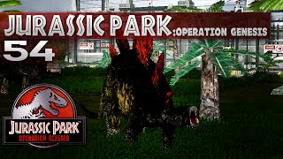 Jurassic Park: Operation Genesis - Episode 54 - Nice Stegosaur