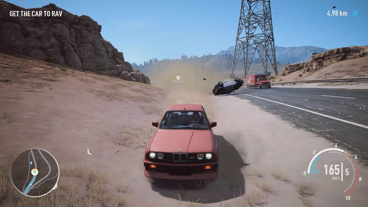 NFS Payback - BMW M3 E30 Abandoned Car Location and Police ...