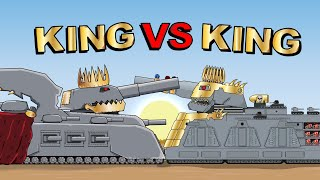 """""""The decisive battle of the Kings"""" - Cartoons about tanks"""