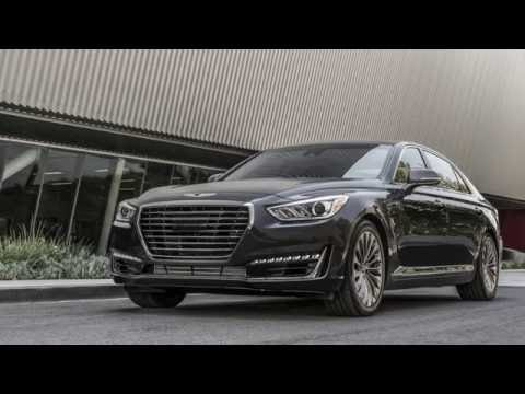 (More) Luxury from the East: 2017 Genesis G90 - Autoline Feature