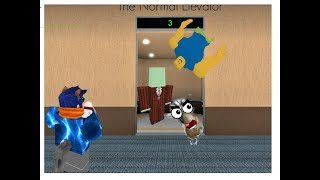 Snake potato is evil!!] roblox ep.4]the normal elevator