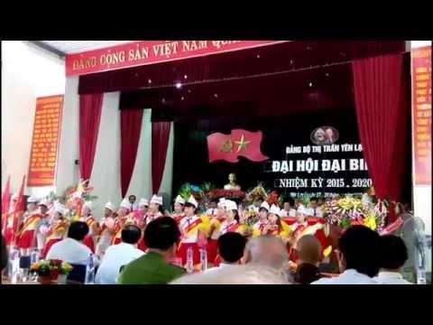 Dai hoi Dang bo thi tran Yen Lac 2015 - 2020
