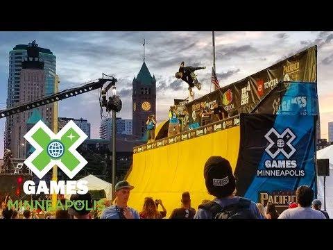 Skateboard Vert Qualifier: FULL BROADCAST | X Games Minneapolis 2018