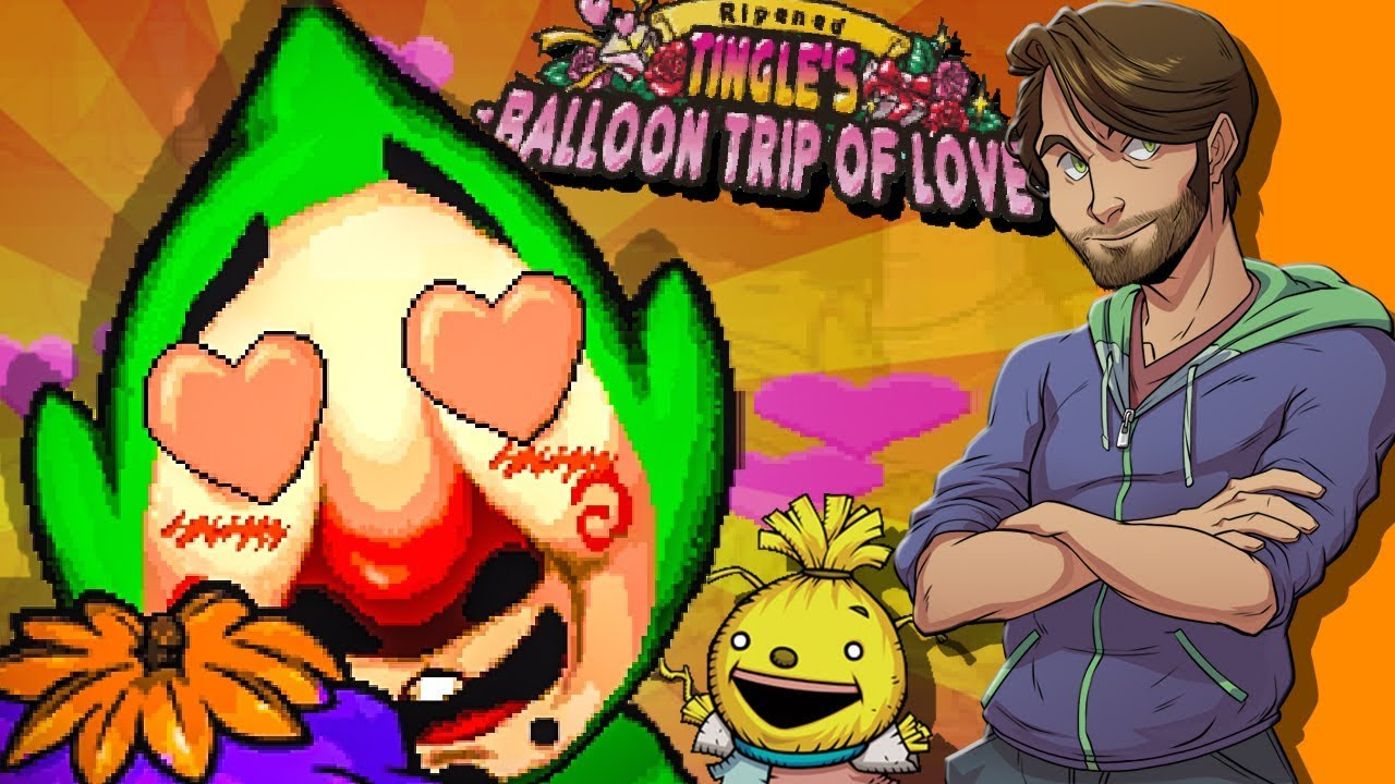 TINGLE'S BALLOON TRIP OF LOVE! - SpaceHamster