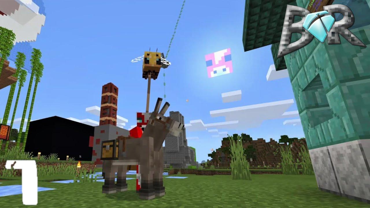 BrokeRock 2 |Ep 7| Payne's Shopping Spree. Minecraft: Bedrock Edition SMP