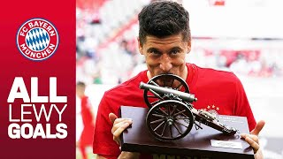 ALL of Robert Lewandowski's Bundesliga Goals 2018/19