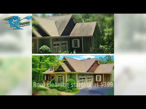 Roof cleaning Atlanta Ga