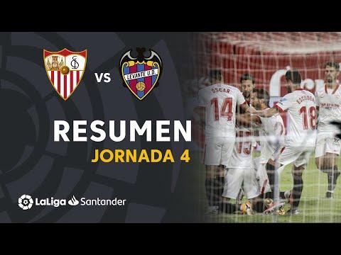 Sevilla Levante Goals And Highlights