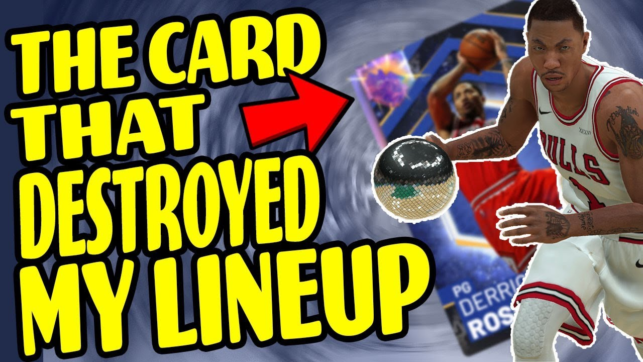 THE CARD THAT DESTROYED MY LINEUP!!! - NBA 2K19 - MyTeam