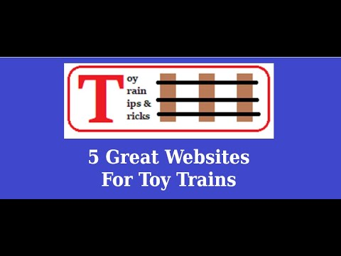 Episode 70 – 5 Useful Websites For every Toy Train Enthusiast