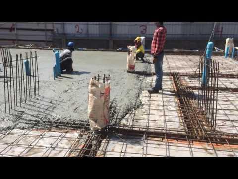 Civil Engineering For Site Engineer Worker ( របៀបចាក់បេតុងនៅការដ្ធាន៑