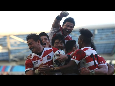 Japan v South Africa  – Full Match Highlights and Tries