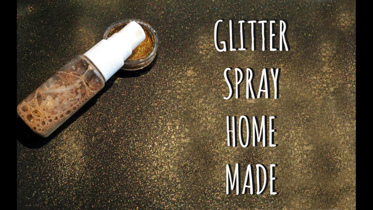 Pareti Glitterate Fai Da Te : Glitter spray home made estrazione giveaway come fare i colori