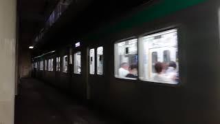 京都市営地下鉄烏丸線 10系 四条駅入線