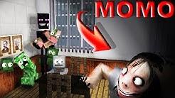 monster school VS momo 3:00 am horror  - minecraft animation