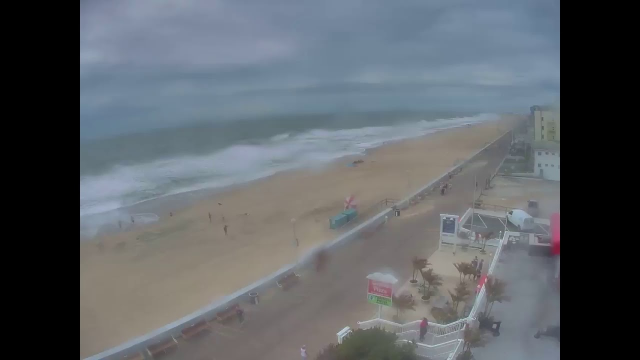 WATCH: Webcams offer real-time view of Hurricane Florence | WTOP
