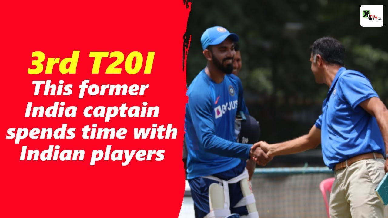 Download Watch: This former India captain hogged limelight during Team India's practice session at NCA