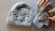 9abfbc344 Crochet Owl Cable Stitches - Duration: 5 minutes, 17 seconds.
