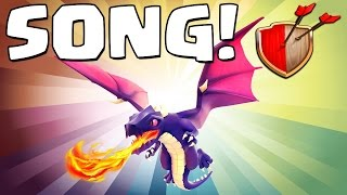 "Clash of Clans ""DRAGON SONG!"" Clash of Clans Track 9/10 New Album!"