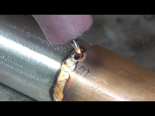 New Cold Welding Machine Can Weld Iron Pipes To Copper Pipes Youtube