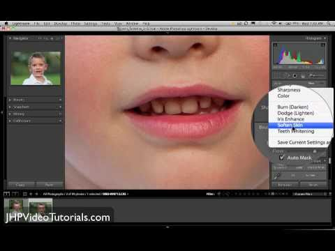 Teeth Whitening In Lightroom Youtube