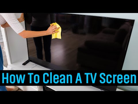 How To Clean A TV Screen - Without Damaging It! [2020]