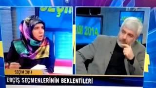 Diba Keskin Ermiş Canlı Yayın Sterk Tv Van Erciş Bdp Belediye Başkan Adayı 02 02