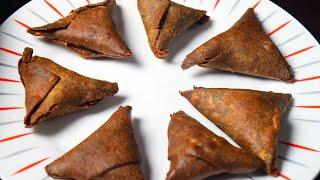 No maida samosa - super healthy and tasty black rice samosa ( கவுனி  அரிசி  சமோசா )