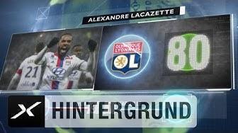 Alexandre Lacazette ist Frankreichs bester Torjäger in Europa | Fünf Fakten nach dem 21. Spieltag