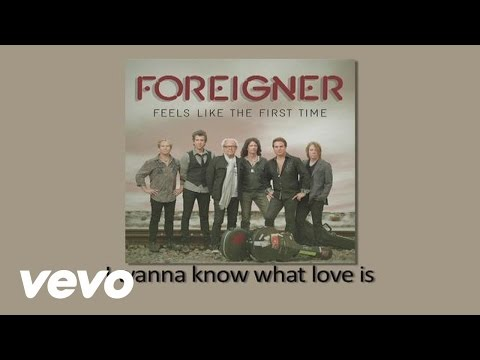 Foreigner - I Want To Know What Love Is (Official Lyric Video)