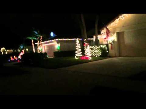 Xmas Lights - West Palm Beach 2015