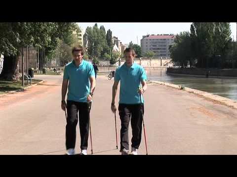 Nordic Walking   Die richtige Technik