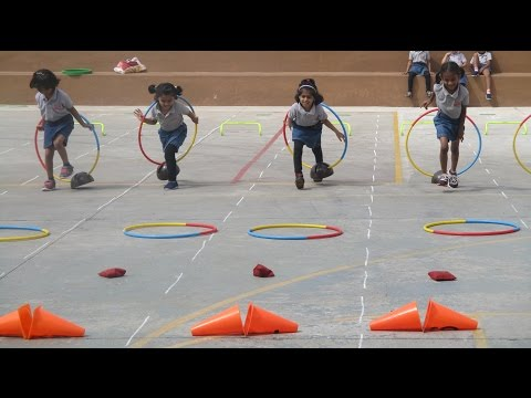 Sports Day for Pre-primary Chitrakoota School, Bangalore