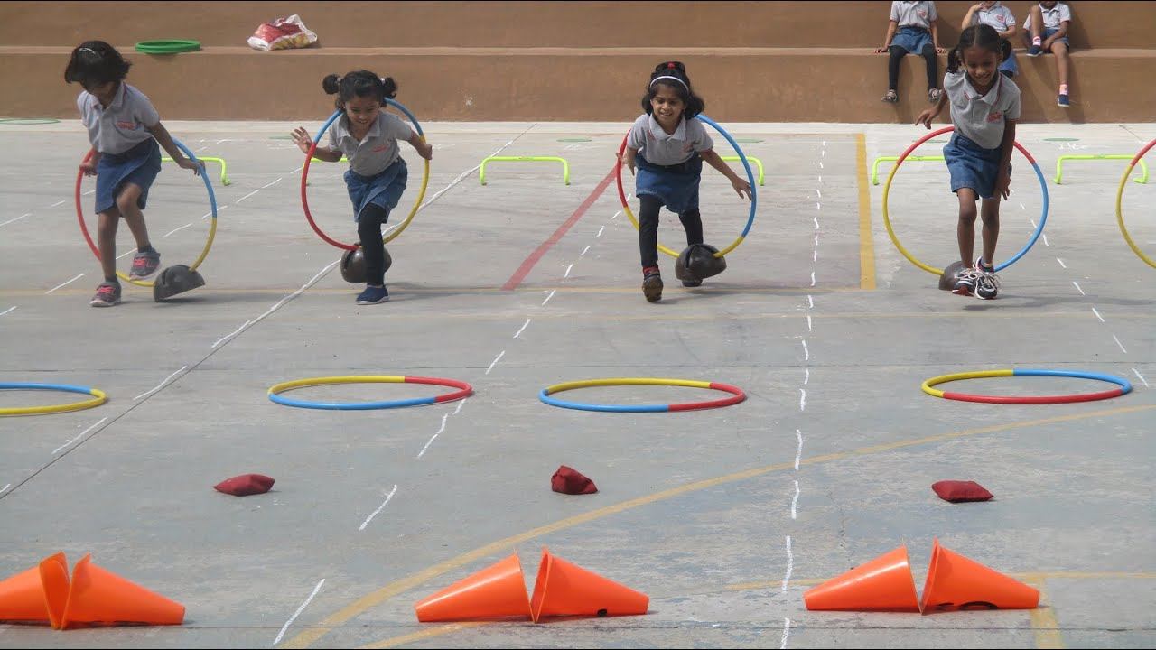 Sports Day For Pre Primary Chitrakoota School Bangalore