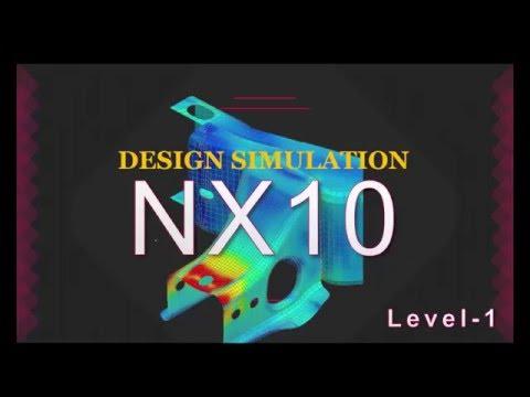 NX10 Design simulation Foundation Concept Tutorial /Video Training