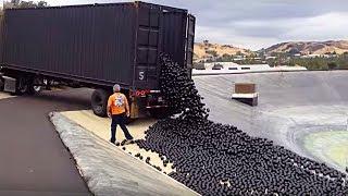 Зачем 96 000 000 черных шаров высыпали в водохранилище Лос Анджелеса