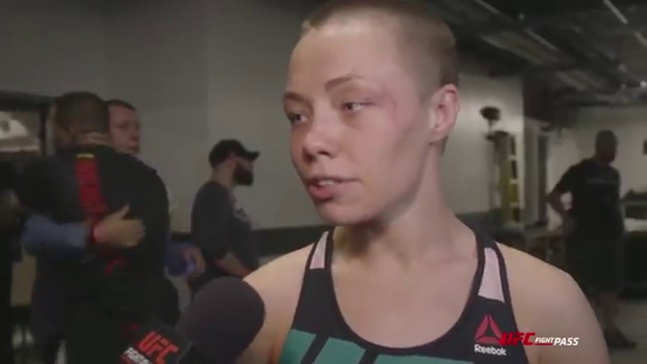Young Rose Namajunas nude photos 2019