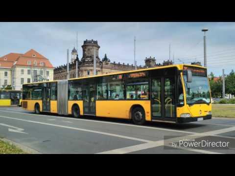 Busse und Bahnen aus Dresden